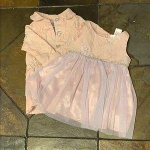 Formal bay girl dress set